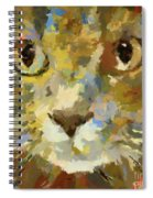Autumn Cat Spiral Notebook