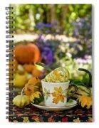 Autumn Delight Spiral Notebook