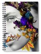Autumn Head Spiral Notebook