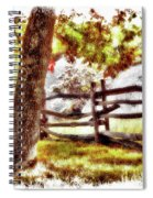 Autumn In Doughton Ap Spiral Notebook