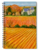 Autumn In French Vineyards Spiral Notebook