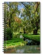 Autumn In Grand-pre Spiral Notebook