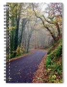 Autumn In Italy Spiral Notebook