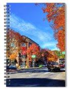 Autumn In Pullman Spiral Notebook
