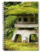 Autumn, Pagoda, Japanese Garden Spiral Notebook