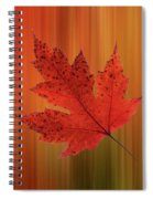 Autumn Spirit Panoramic Spiral Notebook