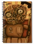 Avenge Your Holes Spiral Notebook