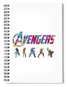 Avengers Team Spiral Notebook