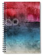Awakened 4-  Abstract Art By Linda Woods Spiral Notebook