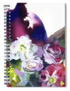Awakening Of Nature. Spiral Notebook