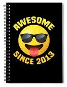 Awemoji 2013 Spiral Notebook