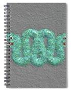 Aztec Serpent Spiral Notebook