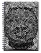 B In W Spiral Notebook