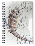 B Is For Blue Tongue Lizard Spiral Notebook