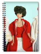 Baby It's Cold Outside Barbies Spiral Notebook