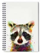 Baby Raccoon Spiral Notebook