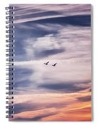 Back To The Sky Spiral Notebook
