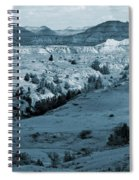 Badlands Shadows And Sunlight Spiral Notebook