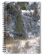 Badlands Winter Spiral Notebook