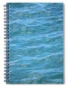 Bahamas Blue Spiral Notebook