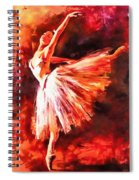 Bailarina Spiral Notebook