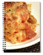 Baked Ziti Serving 2 Spiral Notebook