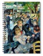 Bal Du Moulin De La Galette - Digital Remastered Edition Spiral Notebook