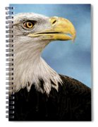 Bald Eagle And Fledgling  Spiral Notebook