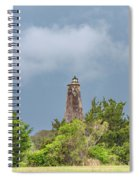 Bald Head Island Lighthouse Spiral Notebook