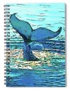 Balene-whales Spiral Notebook