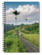 Bali Pathway Spiral Notebook