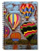 Balloon Family Spiral Notebook