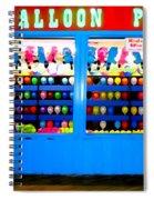 Balloon Pop Spiral Notebook