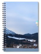 Balloons Over Tegernsee Spiral Notebook