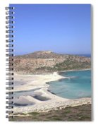 Balos Lagoon Spiral Notebook