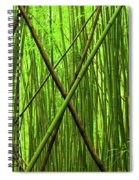 Bamboo X Spiral Notebook