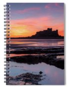Bamburgh Castle Bam0032 Spiral Notebook