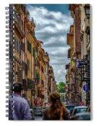 Bandiera D'italia Spiral Notebook