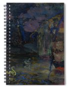 Baranoff-rossine Vladimir  1888-1944  Fairy Lake Spiral Notebook