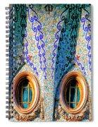 Barcelona Mosaic  Spiral Notebook
