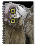 Barking Owls 2 Spiral Notebook