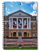 Bascom Hall - Madison - Wisconsin Spiral Notebook