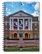 Bascom Hall - Madison - Wisconsin Spiral Notebook