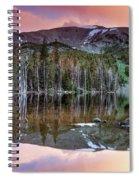 Basin Lake Sunset Spiral Notebook