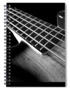 Bass Guitar Musician Player Metal Rock Body Spiral Notebook