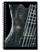 Bass Guitar Musician Player Metal Rock Spiral Notebook