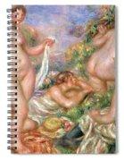 Bathers, Circa 1918 Spiral Notebook