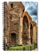 Baths Of Caracalla Spiral Notebook