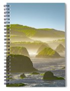 Bay In California Spiral Notebook
