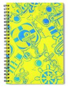 Bay Marine Spiral Notebook
